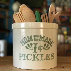 Monica's Ceramic Pickle Crock