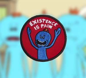 Mr. Meeseeks Existence Is Pain Patch