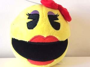Ms. Pac Man Plush