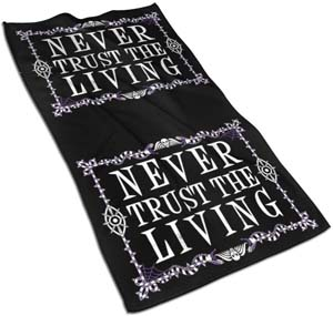 Never Trust The Living Beetlejuice Towel