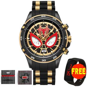 Official Marvel Spider Man Mens Watch