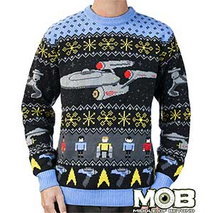 Official Star Trek The Original Series Holiday Sweater