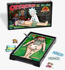 Operation Game Rick And Morty Edition