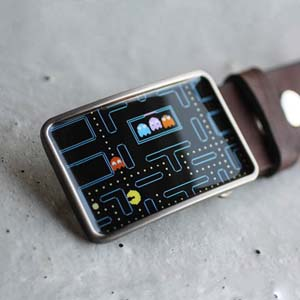 Pac Man Belt Buckle For True Geeks