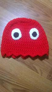 Pac Man Ghost Hat