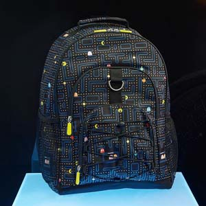 Pac Man Glow In The Dark Recycled Backpack