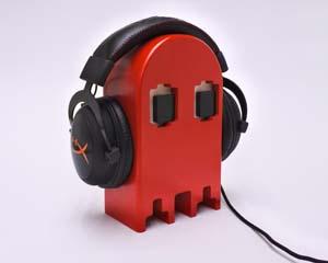 Pac Man Headphone Holder