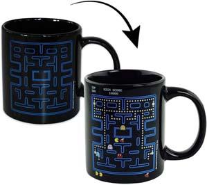Pac Man Heated Mug