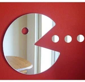 Pac Man Hungry Man Mirror