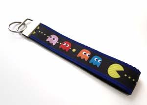 Pac Man Key Fob
