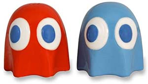 Pac Man Salt And Pepper Shakers