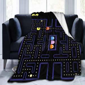 Pac Man Throw Blanket