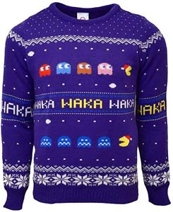 Pac Man Ugly Christmas Sweater