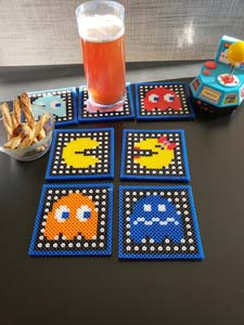 Pac Man Video Game Coasters