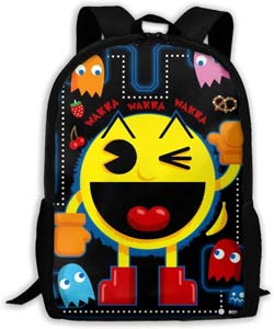Pac Man Student Backpack