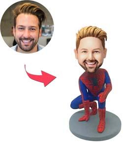 Personalized Spiderman Bobblehead