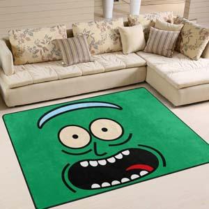 Pickle Rick Carpet