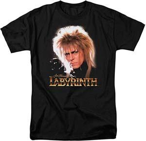 Popfunk Labyrinth Jareth David Bowie T Shirt