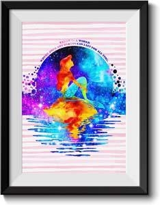 Princess Ariel Canvas Print