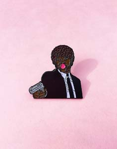 Pulp Fiction Bubblegum Pin