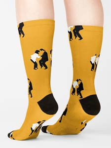 Pulp Fiction Dancing Socks