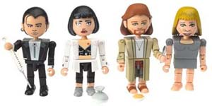 Pulp Fiction Minifigures Overdose Scene Set