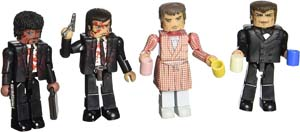 Pulp Fiction Minifigures The Bonnie Situation Toy Set