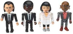 Pulp Fiction Minifigures The Cast Toy Set