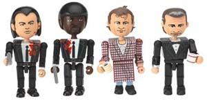 Pulp Fiction Minifigures The Cleanup Scene Toy Set