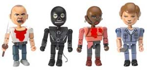 Pulp Fiction Minifigures The Gimp Toy Set