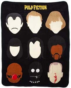 Pulp Fiction Plush Throw Blanket