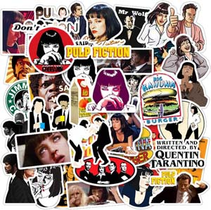 Pulp Fiction Sticker Pack
