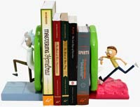 Rick And Morty Portal Bookend