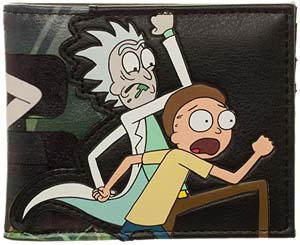 Rick & Morty Faux Leather Bifold Wallet