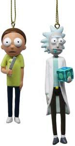 Rick & Morty Figure Ornament Set