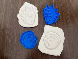 Rick And Morty Cookie Cutters