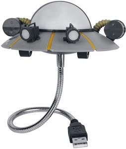 Ricks Space Ship Usb Light