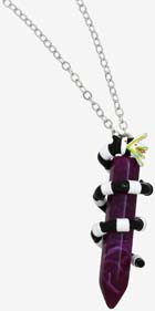 Sandworm & Crystal Necklace