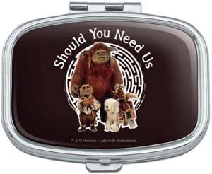 Should You Need Us With Ludo Hoggle And Didymus Rectangle Pill Case