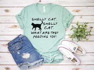 Smelly Cat Shirt Friends Tv Show