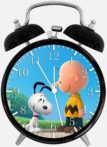 Snoopy Charlie Brown Desk Alarm Clock