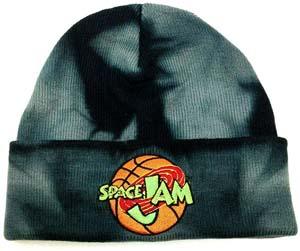 Space Jam Acid Wash Knit Beanie