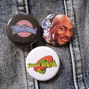 Space Jam Buttons