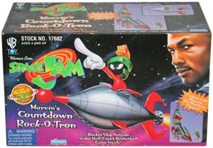 Space Jam Marvin The Martian Count Down Rock O Tron