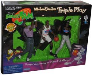 Space Jam Michael Jordan Action Figure Set