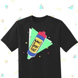 Space Jam Michaels Secret Stuff 90s Design T Shirt
