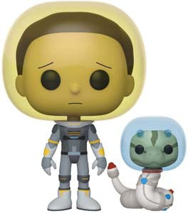 Space Suit Morty With Snake Toy