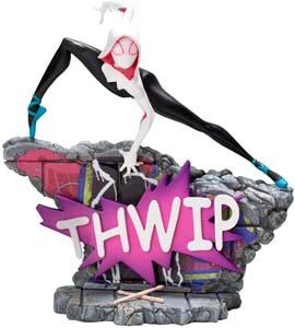 Spider Gwen Spider Verse Thwip Statue