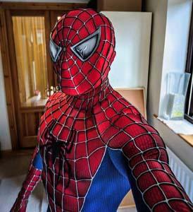 Spider Man 3 Movie Replica Suit