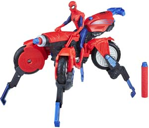 Spider Man 3 In 1 Spider Cycle